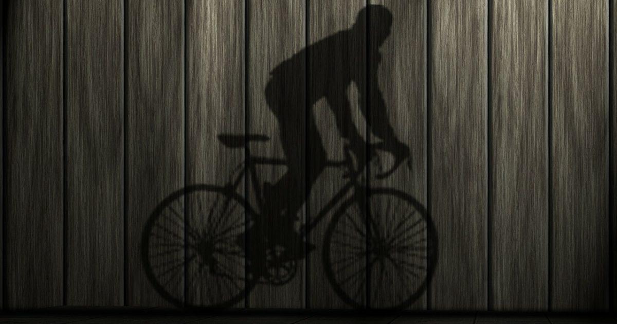 自転車影絵